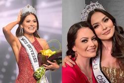 Tân Miss Universe bị chê già gần bằng mẹ khi khoe ảnh chụp chung