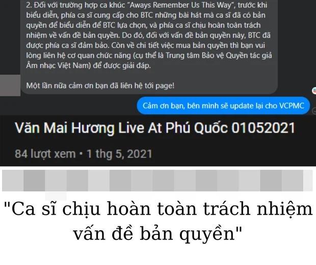 Văn Mai Hương tuyên bố đơn vị tổ chức đóng bản quyền, 2 địa điểm đồng loạt phủ nhận-3