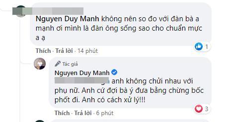 Bị bà Phương Hằng tuyên bố lột trần, Duy Mạnh: Làm đi anh đợi-6