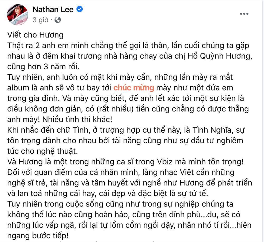 Nathan Lee bênh vực Văn Mai Hương giữa ồn ào dính phốt bản quyền-1