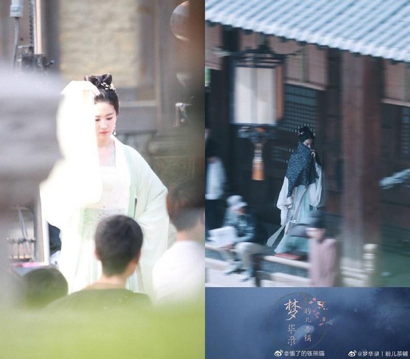 Lưu Diệc Phi đẹp xuất sắc tại Mộng hoa lục nhưng đứng cạnh mỹ nhân vô danh lại lộ khuyết điểm-3