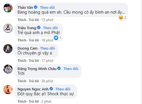 Sao Việt bàng hoàng khi hay tin hoa hậu Thu Thủy qua đời-5
