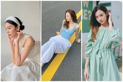Street style: Dàn sao Việt lăng-xê trang phục pastel xoa dịu ngày hè