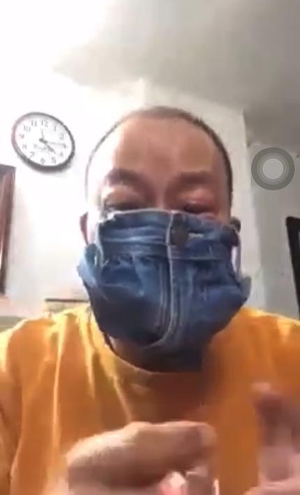 NSƯT Đức Hải phản cảm cực độ khi quay clip cắt quần làm khẩu trang-1
