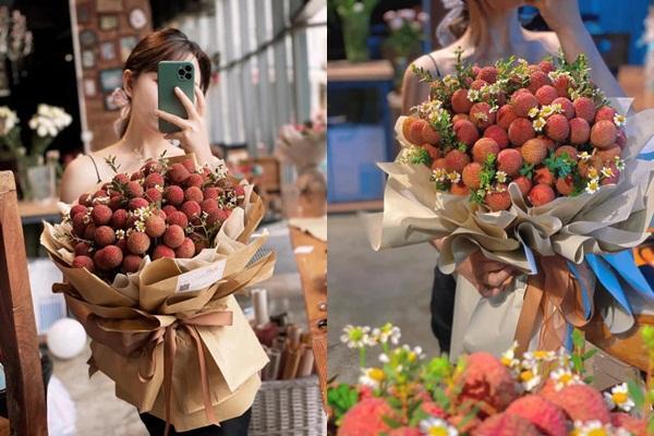 Mang món đặc sản Bắc Giang đi làm bó hoa, nhiều cô gái đổ đứ đừ và khẳng định ai tặng sẽ yêu luôn-1