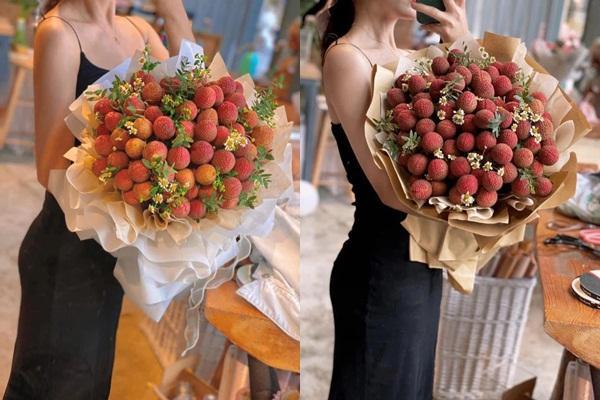 Mang món đặc sản Bắc Giang đi làm bó hoa, nhiều cô gái đổ đứ đừ và khẳng định ai tặng sẽ yêu luôn-3