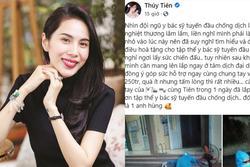 Chưa hết biến: Thuỷ Tiên bị tố nhận vơ 22 máy điều hoà hỗ trợ y bác sĩ ở Bắc Giang?