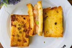 Cách làm sandwich giòn rụm cho bữa sáng