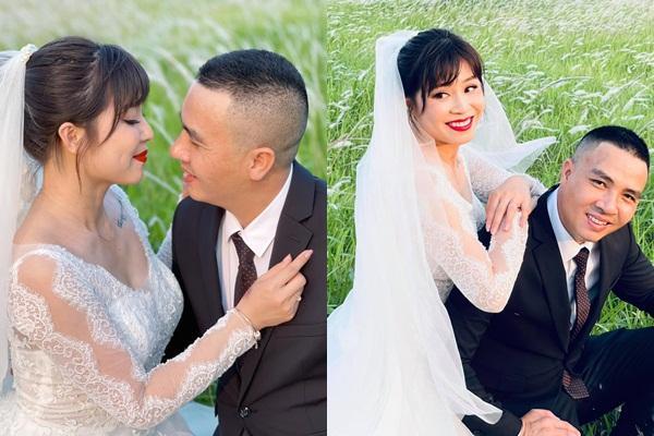 Netizen soi chi tiết sặc mùi tiền trong ảnh cưới MC Hoàng Linh với chồng-2