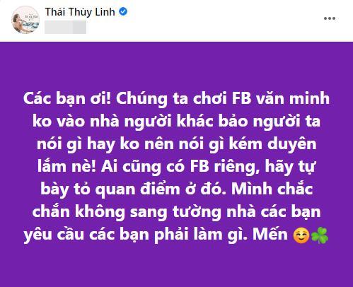 Thái Thùy Linh ủng hộ tước danh hiệu Hoài Linh và điều kiện đi kèm-2