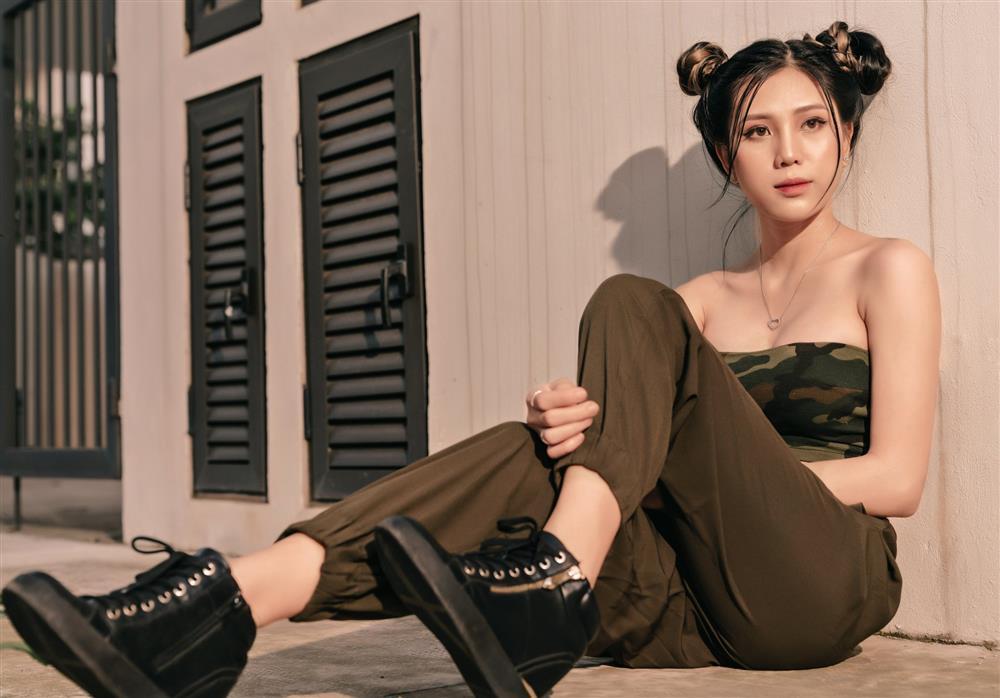 Hot girl 10x theo đuổi giấc mơ người mẫu chuyên nghiệp-2