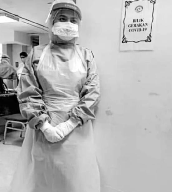 Nữ y tá bầu 7 tháng qua đời vì Covid-19: Cuộc điện thoại cuối xin lỗi chồng-2