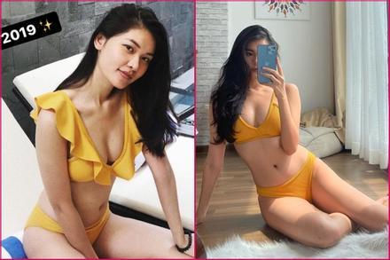 Mặc giãn cách xã hội, á hậu Thùy Dung đốt cháy Instagram với bộ bikini đặc biệt