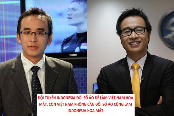 Loạt phát ngôn chất chơi của BLV Tạ Biên Cương, Khắc Cường trận Việt Nam - Indonesia-2