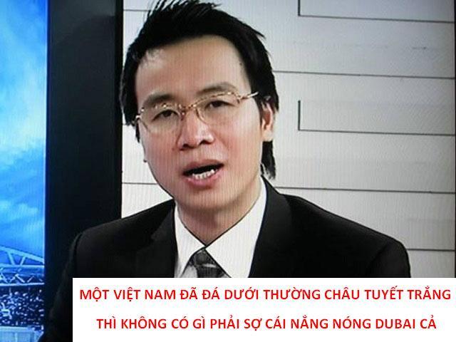 Loạt phát ngôn chất chơi của BLV Tạ Biên Cương, Khắc Cường trận Việt Nam - Indonesia-8