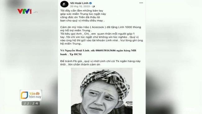 VTV gọi tên Hoài Linh - Trấn Thành - Thủy Tiên, việc giải ngân đều được đề cập-2