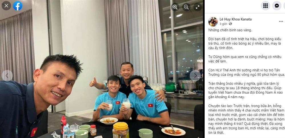 Trợ lý tuyển Việt Nam tiết lộ cầu thủ Indonesia muốn triệt hạ Văn Hậu-2