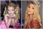 Hoa hậu 'nhí' từng tiêm botox năm 4 tuổi 'lột xác' ở tuổi trưởng thành