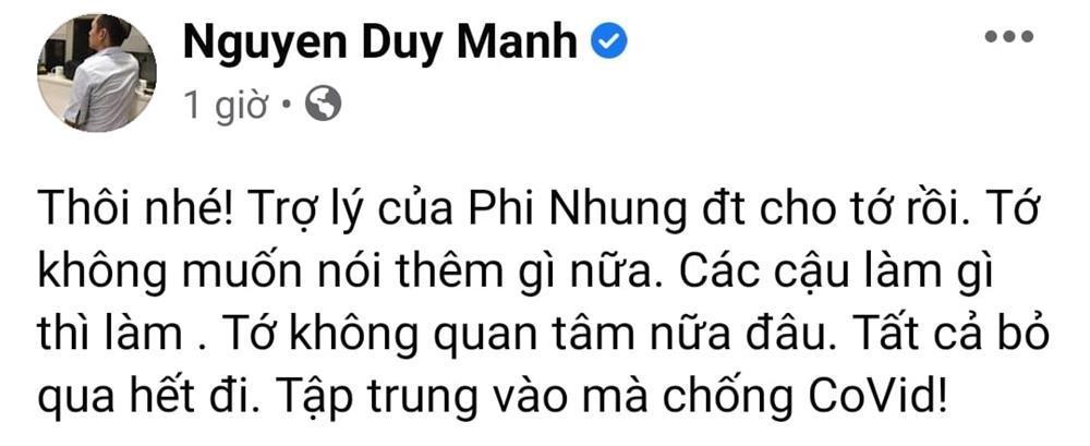 Bị Phi Nhung phản tố, Duy Mạnh mới chính là kẻ nói dối?-3