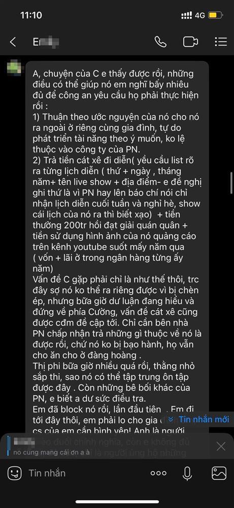 Chị Hồ Văn Cường ra 2 điều kiện với Phi Nhung hòng cứu em trai?-2
