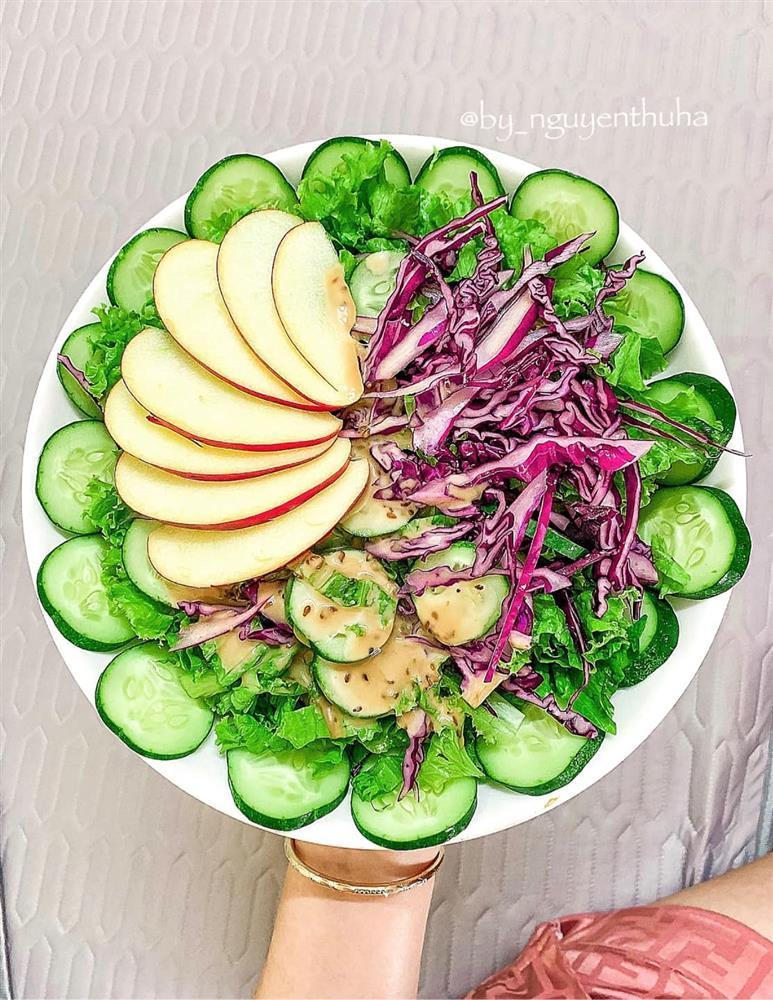Gái xinh chia sẻ loạt đĩa salad thanh mát cho mùa hè, hội chị em rần rần vào xin bí kíp-2