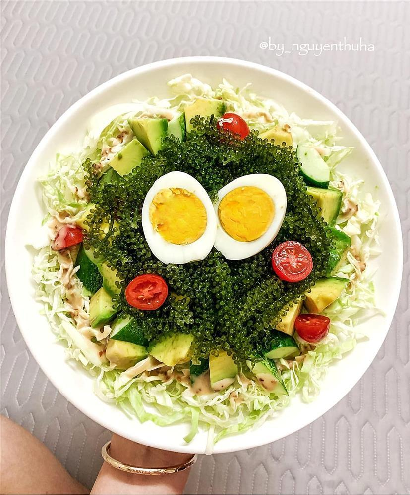 Gái xinh chia sẻ loạt đĩa salad thanh mát cho mùa hè, hội chị em rần rần vào xin bí kíp-3