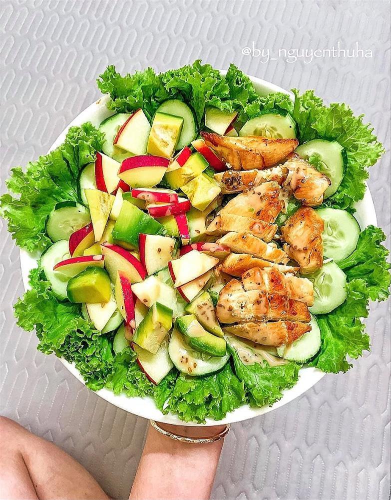 Gái xinh chia sẻ loạt đĩa salad thanh mát cho mùa hè, hội chị em rần rần vào xin bí kíp-5
