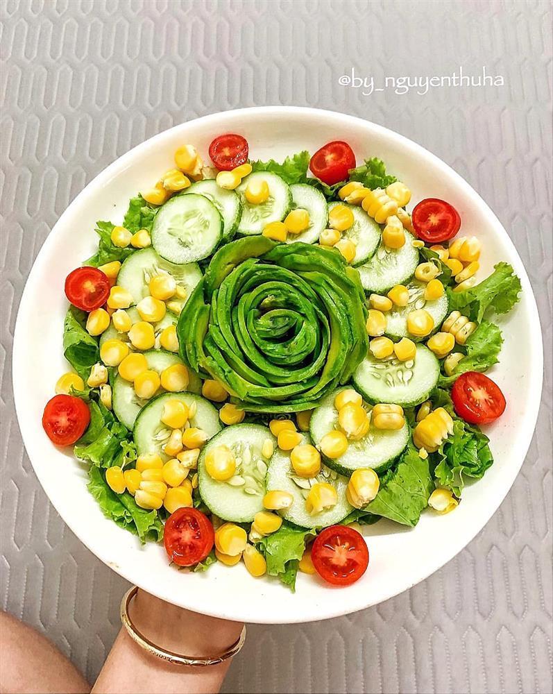 Gái xinh chia sẻ loạt đĩa salad thanh mát cho mùa hè, hội chị em rần rần vào xin bí kíp-6