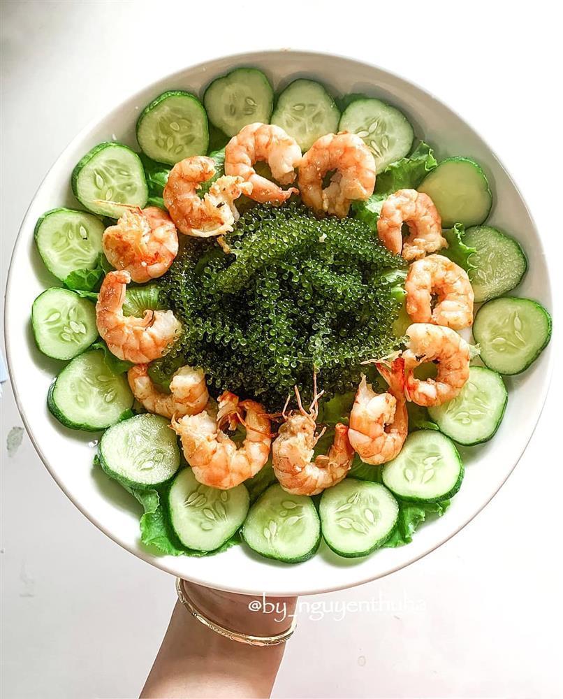 Gái xinh chia sẻ loạt đĩa salad thanh mát cho mùa hè, hội chị em rần rần vào xin bí kíp-7
