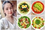 Gái xinh chia sẻ loạt đĩa salad thanh mát cho mùa hè, hội chị em rần rần vào xin bí kíp