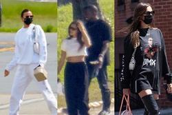 Irina Shayk lộ 'hint' hẹn hò Kanye West bằng một chiếc áo phông?