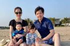 Gia đình Đặng Thu Thảo lần đầu xuất hiện full 4 người