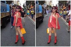Phi Nhung bị đào mộ loạt ảnh ăn mặc thảm họa 'nhất ở Nhật'