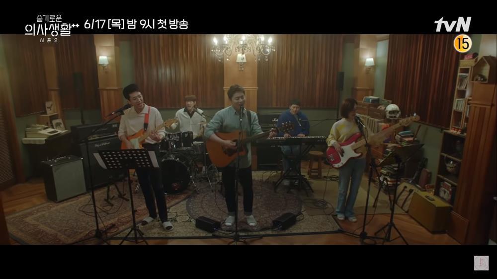 Hospital Playlist 2: Song Hwa từ chối lời tỏ tình Ik Jun, F4 có người kết hôn?-3