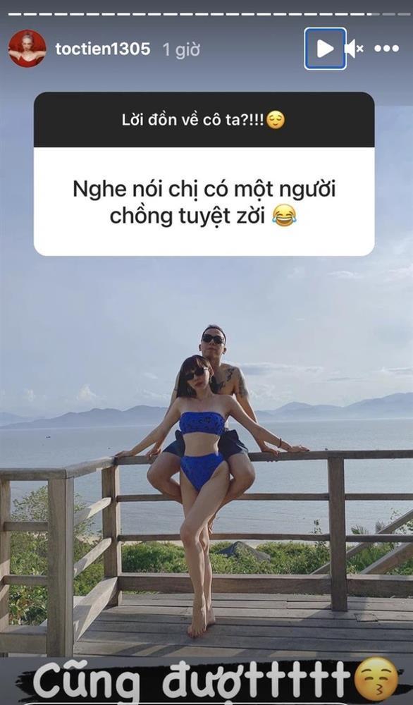 Tóc Tiên hiếm hoi đăng ảnh nóng, bonus cả câu trả lời tin đồn nâng ngực-1