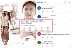 Dân mạng bình luận khiếm nhã MV chung của Phi Nhung - Hồ Văn Cường