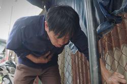 Cảnh phim Thái Hòa khiến khán giả rơi nước mắt