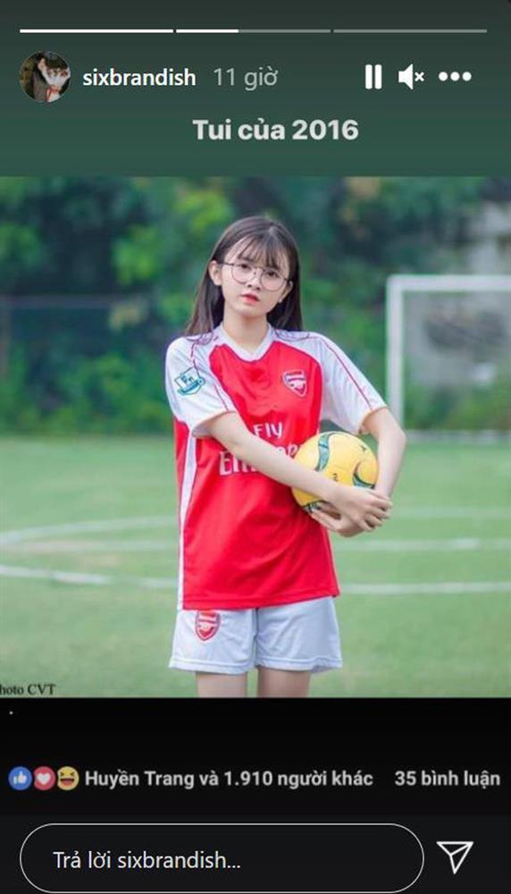 Bạn gái Lai Bâng đào ảnh cũ, hóa ra là hotgirl bóng đá vạn người mê-1