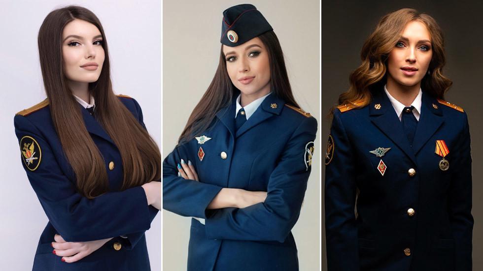 Nhan sắc bùng nổ của các người đẹp trong cuộc thi Hoa hậu Quản ngục Nga-1