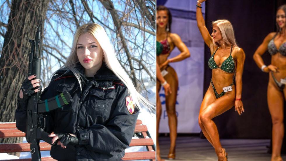 Nhan sắc bùng nổ của các người đẹp trong cuộc thi Hoa hậu Quản ngục Nga-5