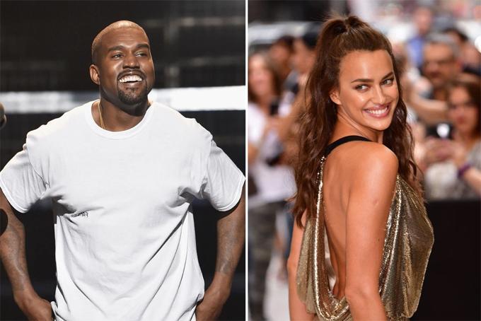 Kanye West chủ động theo đuổi Irina Shayk-1