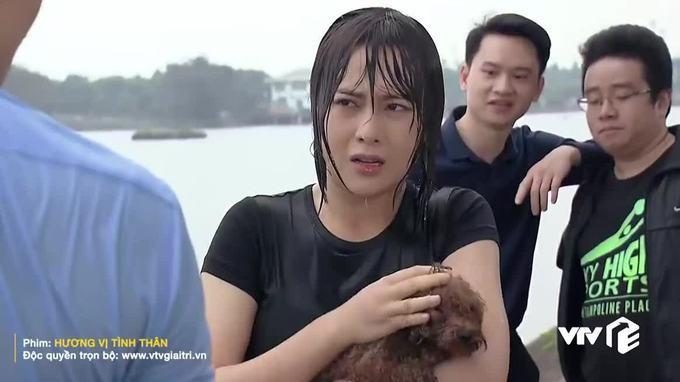 Phương Oanh đóng giả nàng tiên cá ai ngờ lại hóa khúc giò đại dương-5