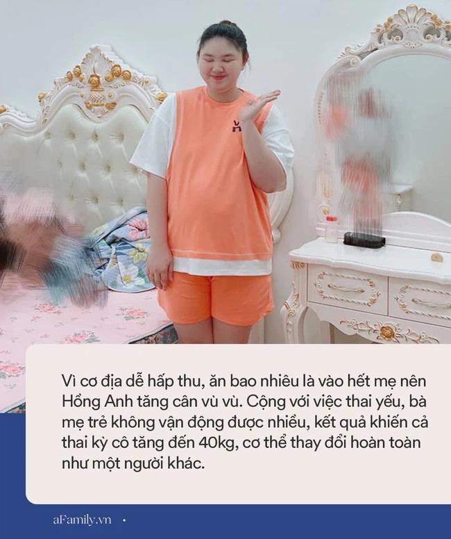 Mẹ Hà Nội đẻ lần đầu xinh đẹp vạn người mê, bầu lần 2 tăng vọt 40kg khiến chồng không nhận ra vợ-3