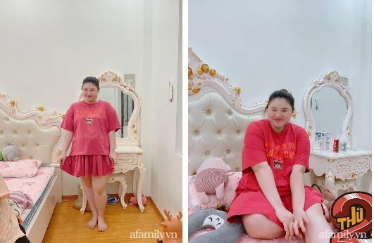 Mẹ Hà Nội đẻ lần đầu xinh đẹp vạn người mê, bầu lần 2 tăng vọt 40kg khiến chồng không nhận ra vợ-4