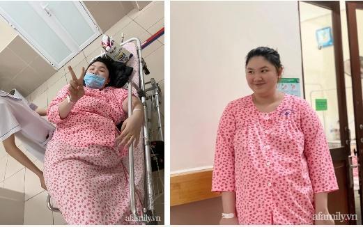 Mẹ Hà Nội đẻ lần đầu xinh đẹp vạn người mê, bầu lần 2 tăng vọt 40kg khiến chồng không nhận ra vợ-5
