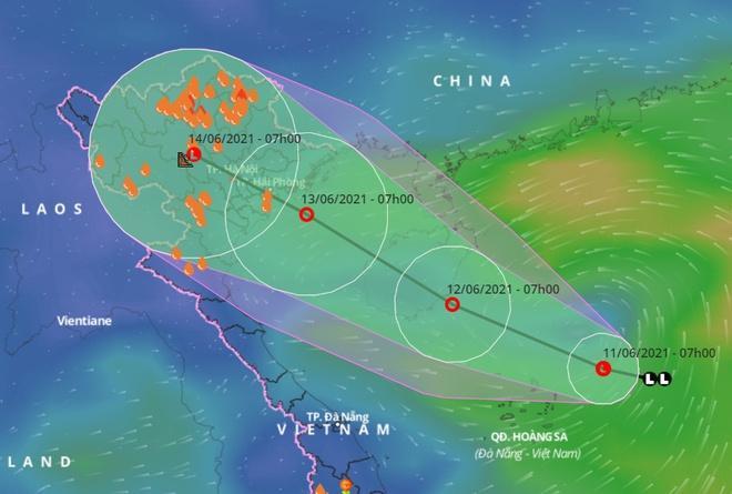 Biển Đông sắp đón áp thấp nhiệt đới, miền Bắc mưa diện rộng-1