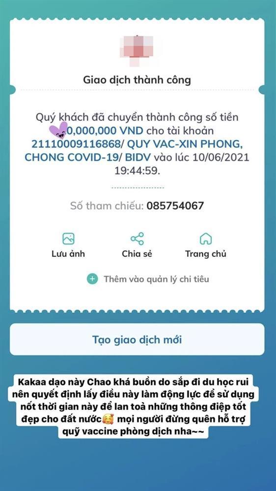 Rich kid 2k3 ủng hộ Quỹ vaccine Covid-19 hàng chục triệu-2