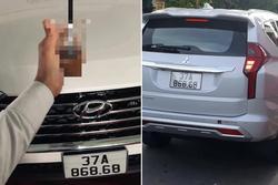 Xuất hiện 2 xế có chung 1 biển số siêu đẹp xôn xao giới chơi xe Nghệ An