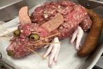 Tác phẩm nấu ăn chuột khổng lồ từ thịt xay khiến ai nhìn cũng hết hồn