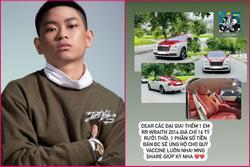 Rao bán 2 siêu xe 24 tỷ ủng hộ quỹ vaccine, Rich Kid Gia Kỳ bị nghi 'khoe của'